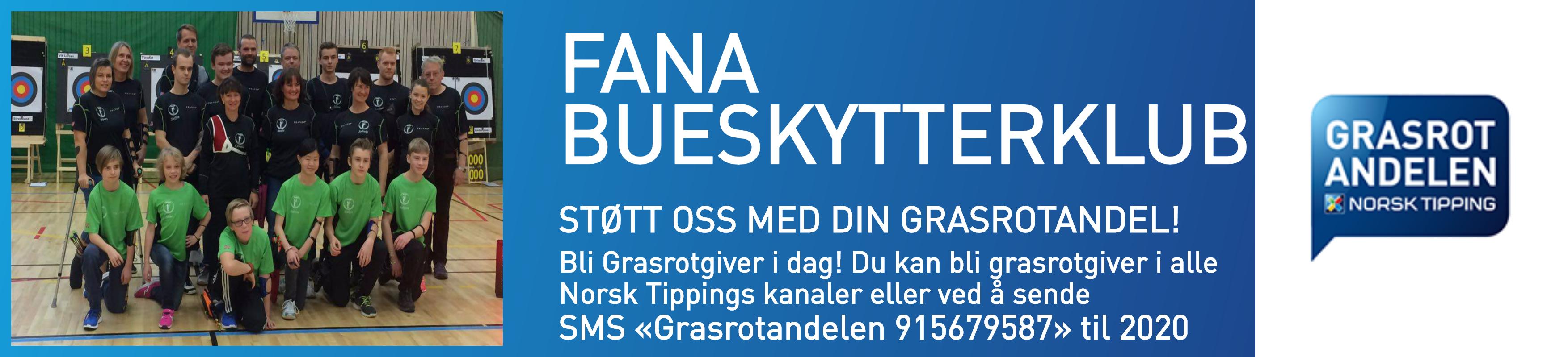Støtt klubben via Grasrotandelen hos Norsk Tipping!