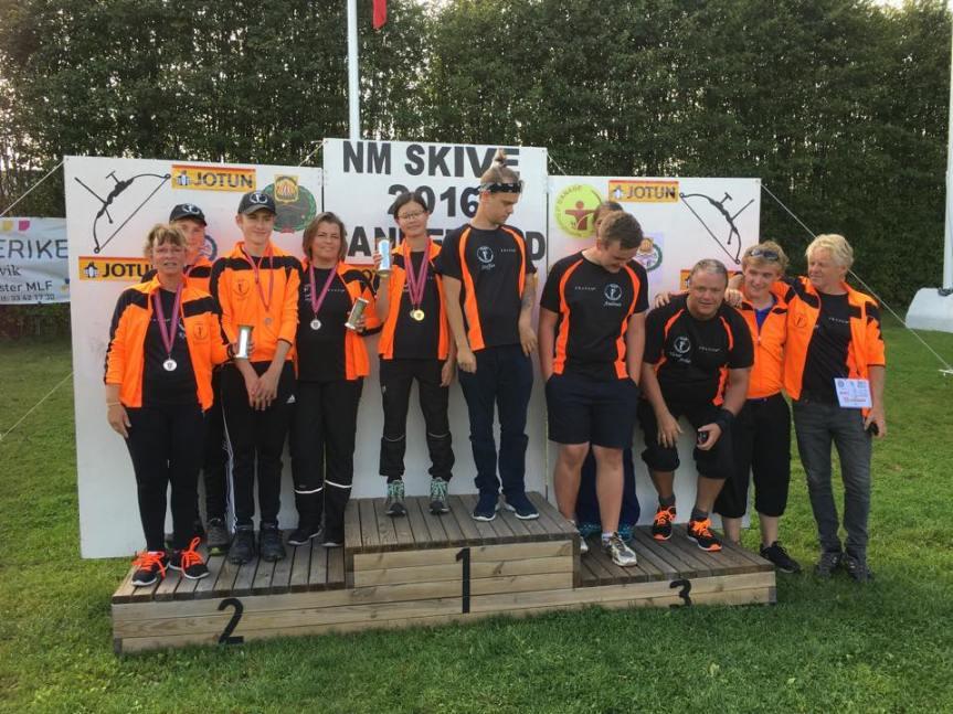 NM i skive, Sandefjord2016